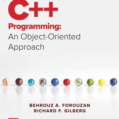کتاب C++ Programming: An Object-Oriented Approach