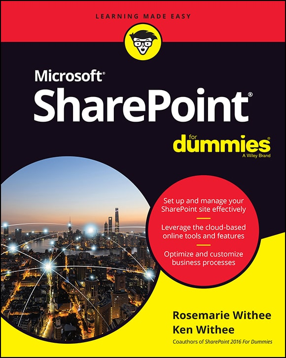 کتاب SharePoint 2019 For Dummies