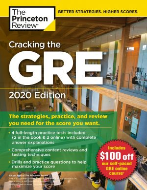 کتاب Cracking the GRE