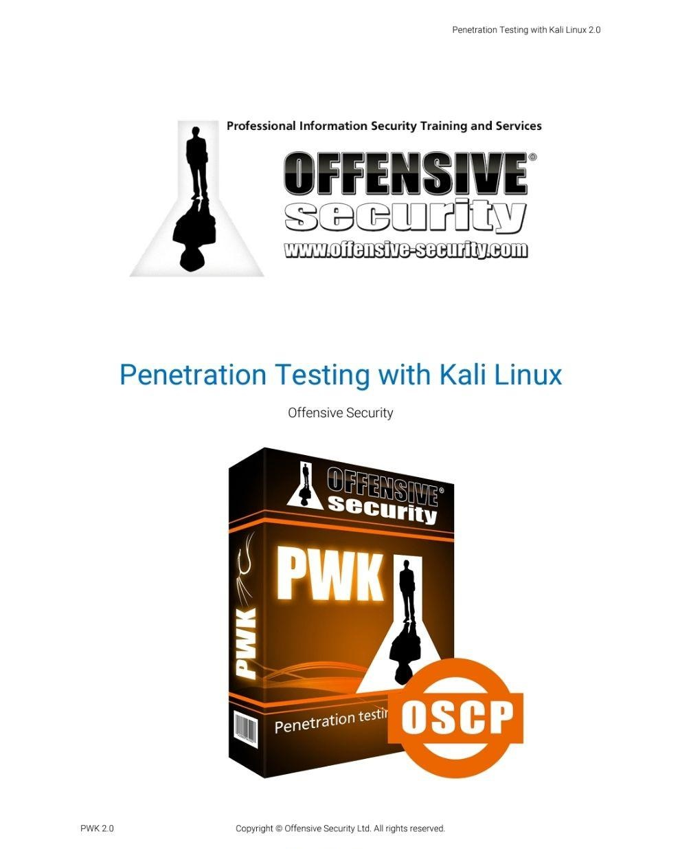 کتاب Penetration Testing with Kali Linux