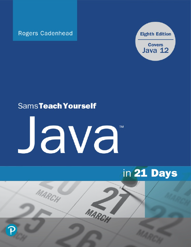 کتاب Sams Tech Yourself Java in 21 Days