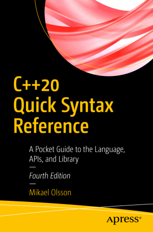 کتاب C++20 Quick Syntax Reference