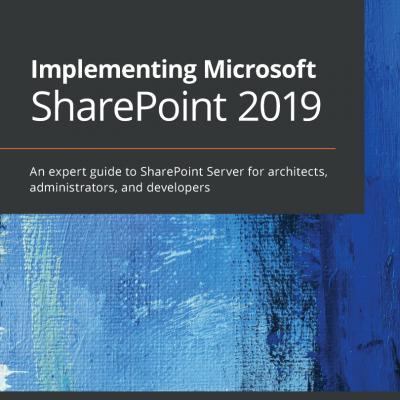 کتاب Implementing Microsoft SharePoint 2019