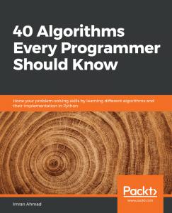 کتاب 40 Algorithms Every Programmer Should Know