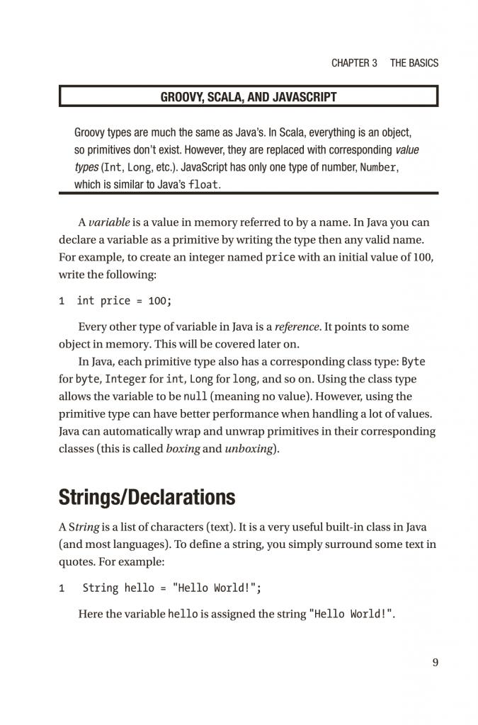 فصل 3 کتاب Modern Programming Made Easy