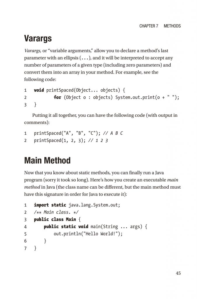فصل 7 کتاب Modern Programming Made Easy
