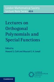کتاب Lectures on Orthogonal Polynomials and Special Functions