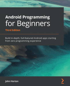 کتاب Android Programming for Beginners