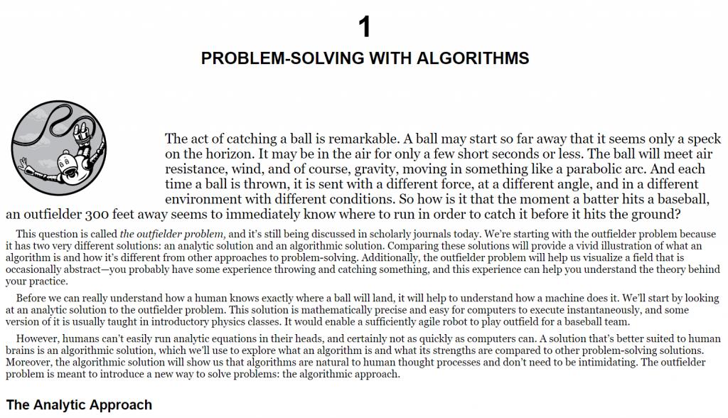 فصل 1 کتاب Dive into Algorithms
