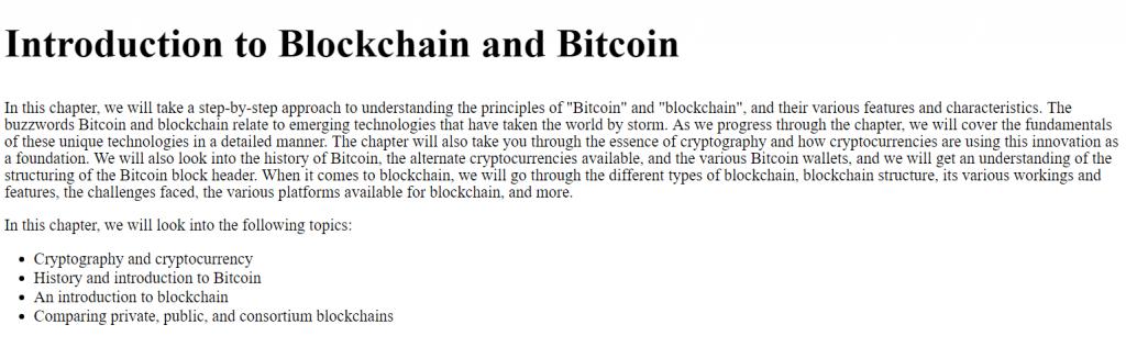 فصل 1 کتاب Learn Bitcoin and Blockchain