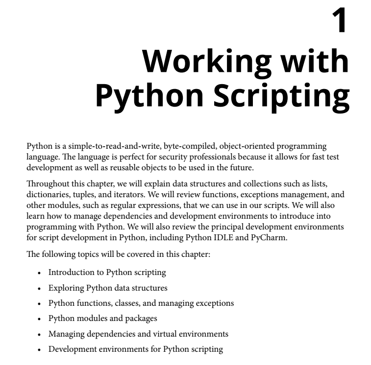 فصل 1 کتاب Mastering Python for Networking and Security