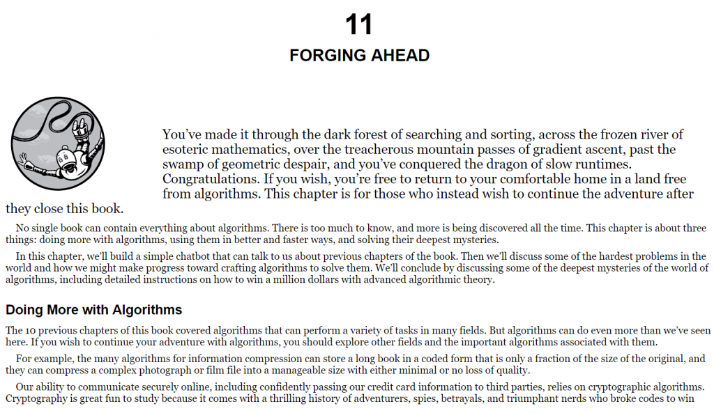 فصل 11 کتاب Dive into Algorithms