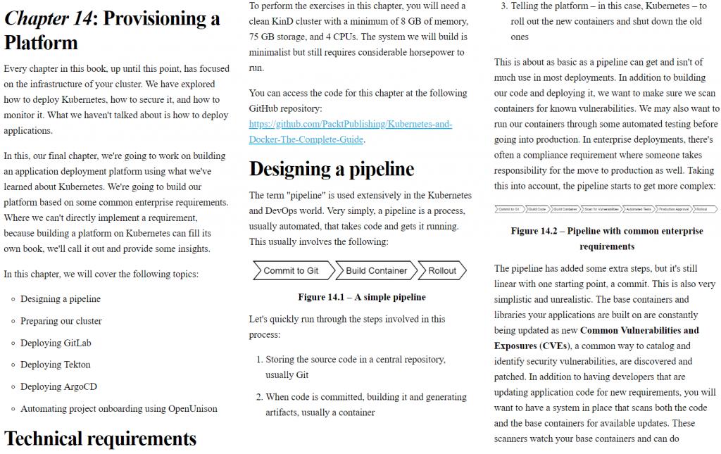 فصل 14 کتاب Kubernetes and Docker – An Enterprise Guide