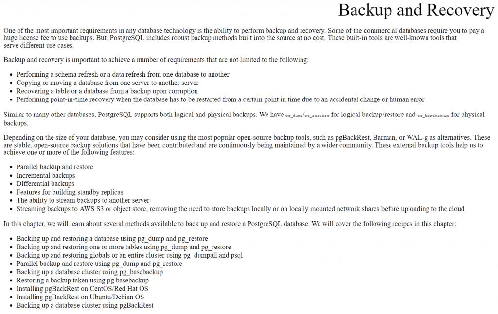 فصل 3 کتاب PostgreSQL 13 Cookbook