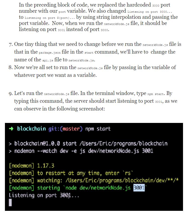 فصل 4 کتاب Learn Blockchain Programming with JavaScript