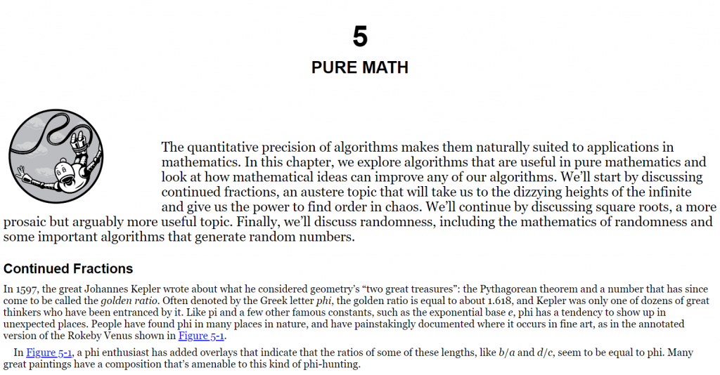 فصل 5 کتاب Dive into Algorithms