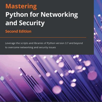 کتاب Mastering Python for Networking and Security