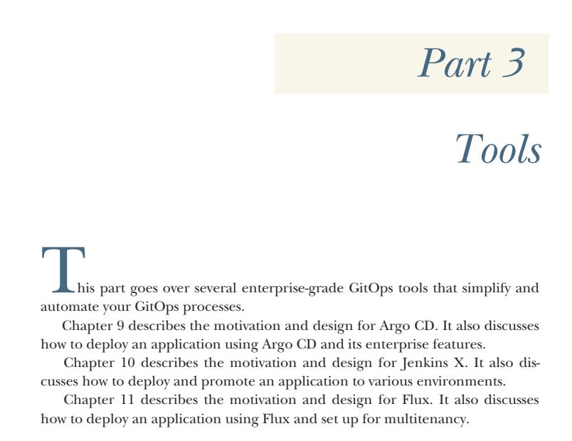 بخش 3 کتاب GitOps and Kubernetes