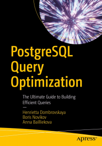 کتاب PostgreSQL Query Optimization
