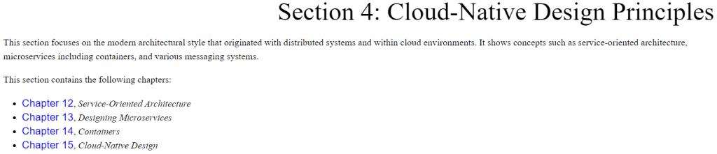 بخش چهارم کتاب Software Architecture with C++