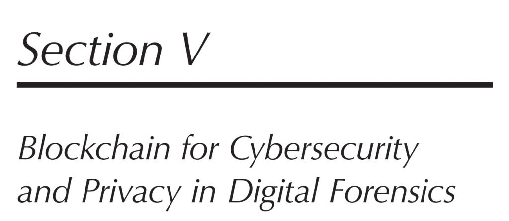 بخش 5 کتاب Blockchain Cybersecurity and Privacy