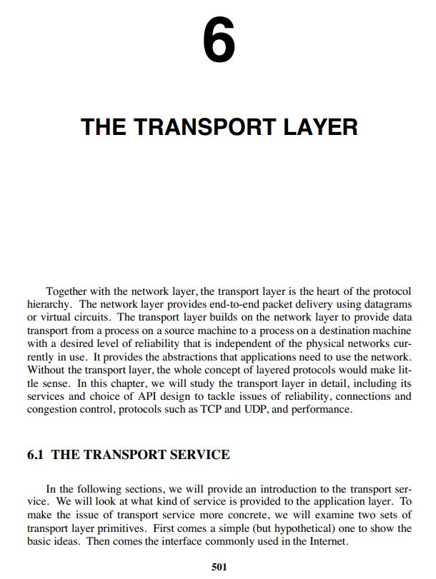 فصل 6 کتاب Computer Networks