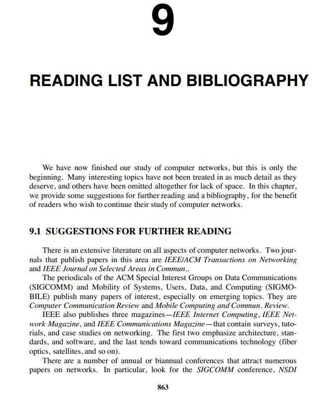 فصل 9 کتاب Computer Networks