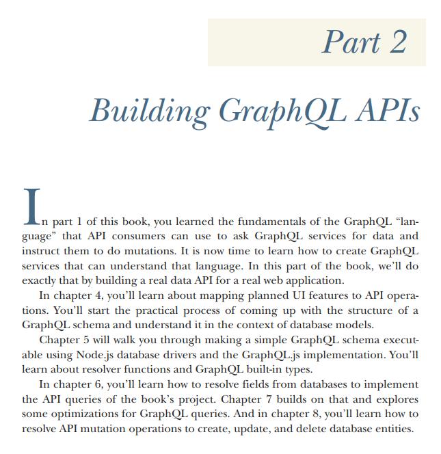 قسمت 2 کتاب GraphQL in Action