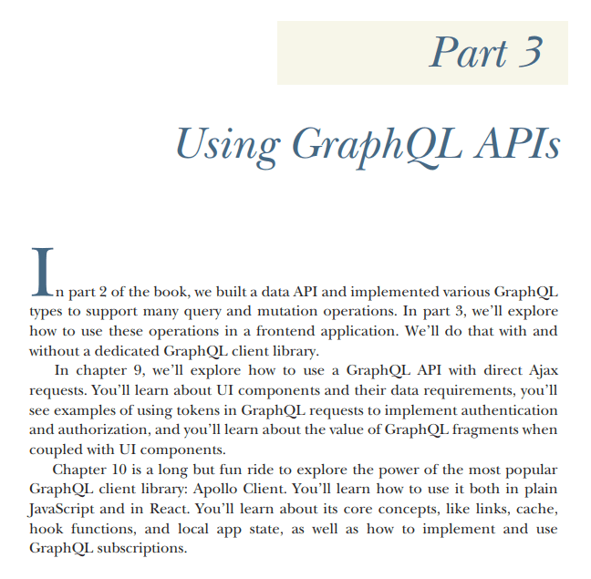 قسمت 3 کتاب GraphQL in Action