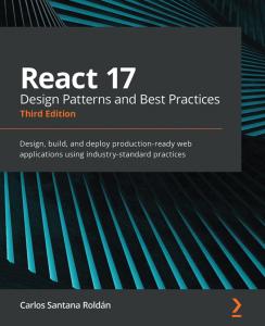 کتاب React 17 Design Patterns and Best Practices