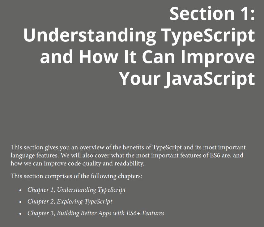 بخش اول کتابFull Stack React TypeScript and Node