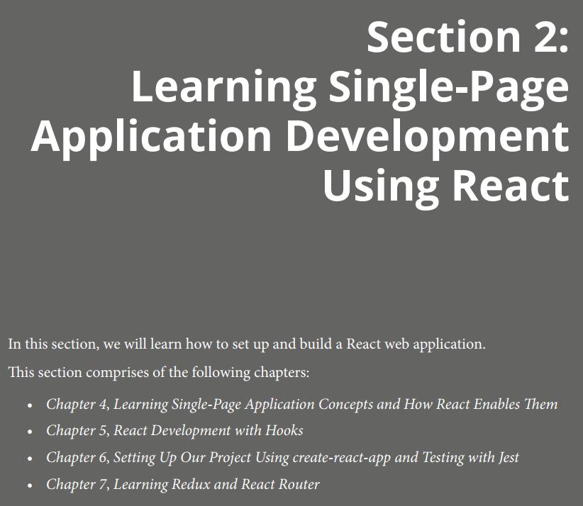 بخش دوم کتابFull Stack React TypeScript and Node