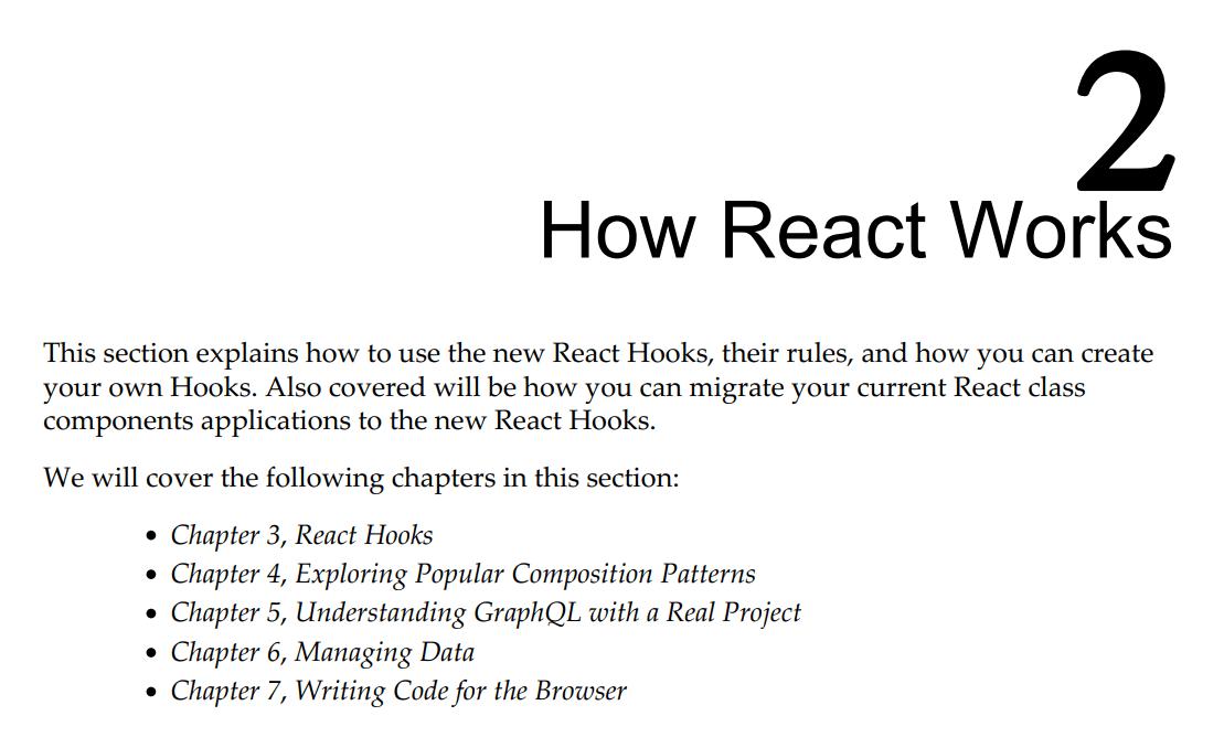 قسمت 2 کتاب React 17 Design Patterns and Best Practices