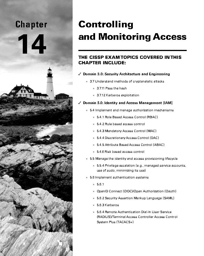 فصل 14 کتاب CISSP نسخه 9