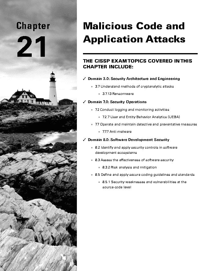 فصل 21 کتاب CISSP نسخه 9