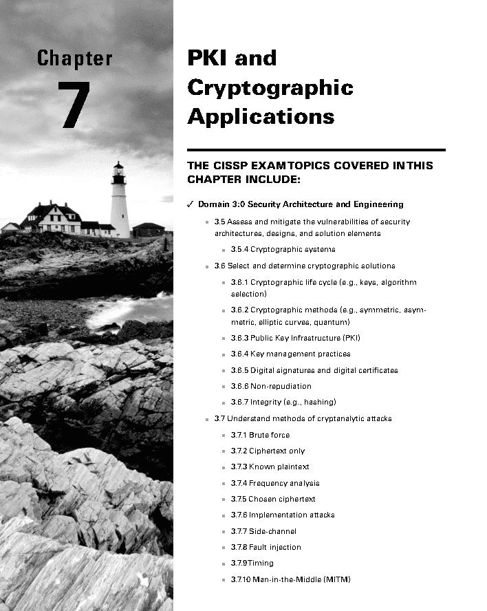فصل 7 کتاب CISSP نسخه 9
