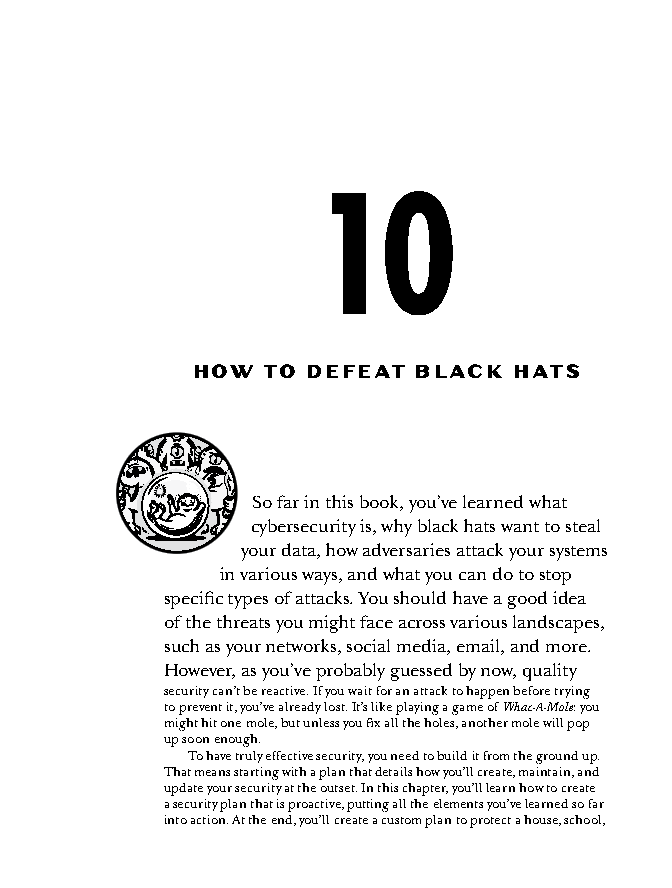 فصل 10 کتاب How Cybersecurity Really Works
