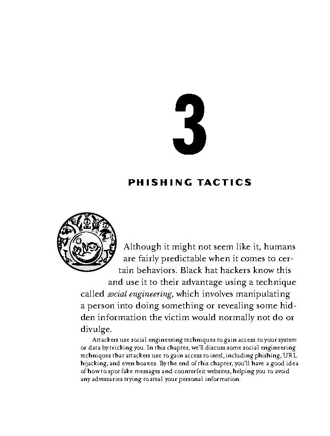 فصل 3 کتاب How Cybersecurity Really Works