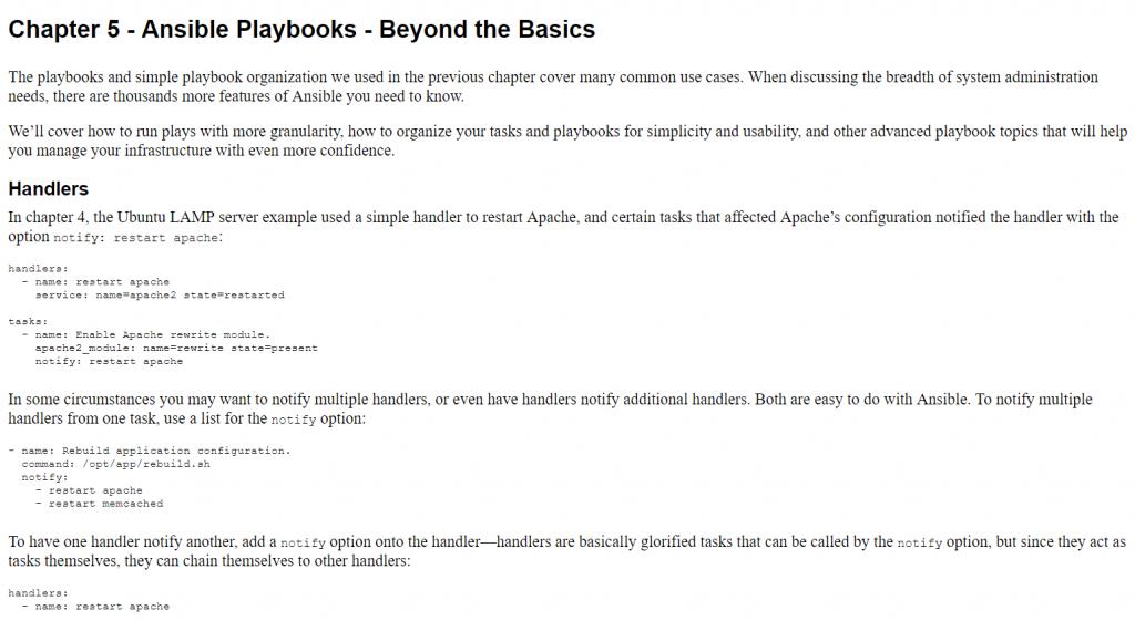 فصل 5 کتاب Ansible for DevOps